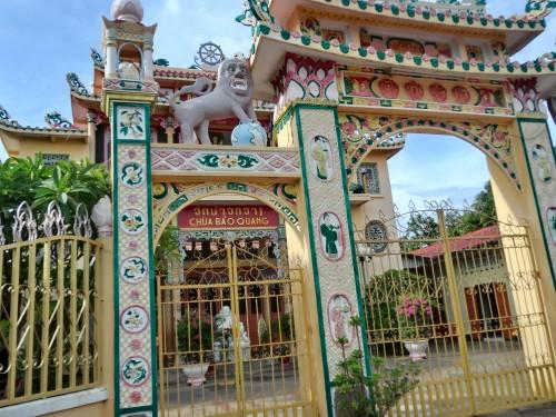 サワンナケートのベトナム寺院