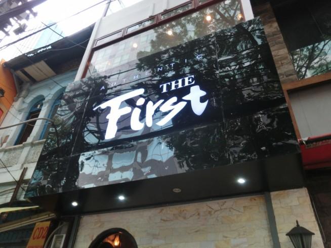 The First Bar>