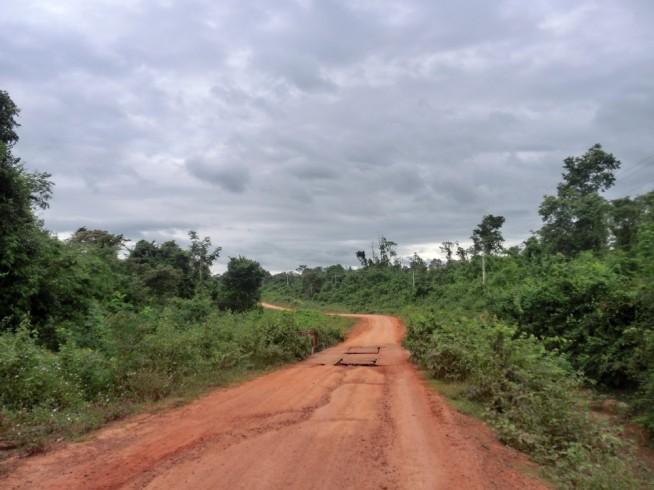 ラオス国内のホーチミン・ルートへ