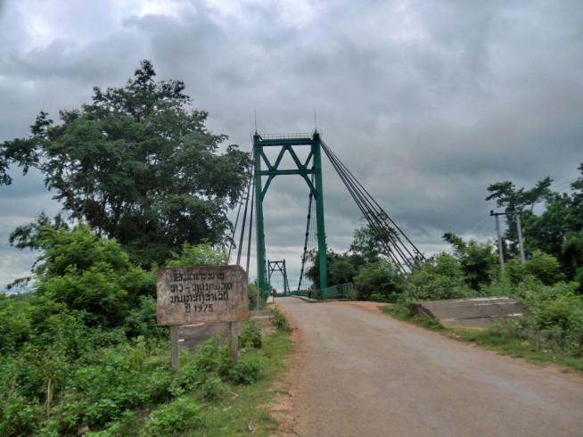 ホーチミン・ルートに掛かる橋