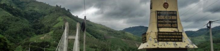 ベトナム・ラオスバイクの旅:第14話~ラオス・ベトナム両国のホーチミン・ルートとケサン基地でベトナム戦争に触れる~