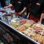 韓国風の焼肉、美味しいです。