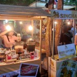 タイのシンハービールとタイ風チェー
