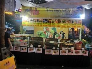 タイ料理店。ベトナムではタイ料理が人気なのです。
