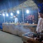 炭火焼きスタイルのベトナム料理が多い。