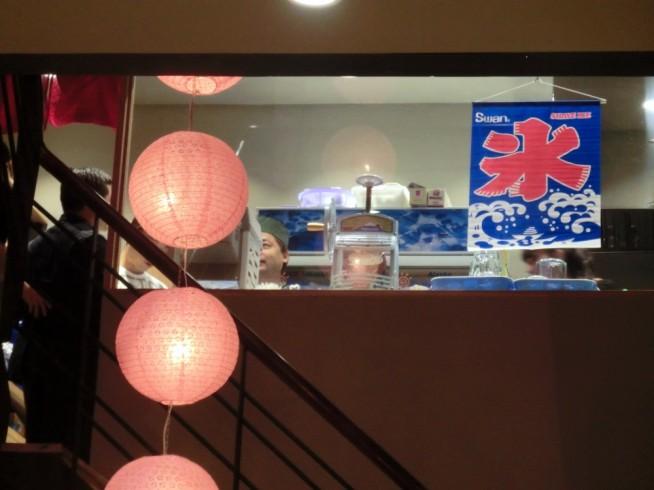 日本製のかき氷マシーンがあります