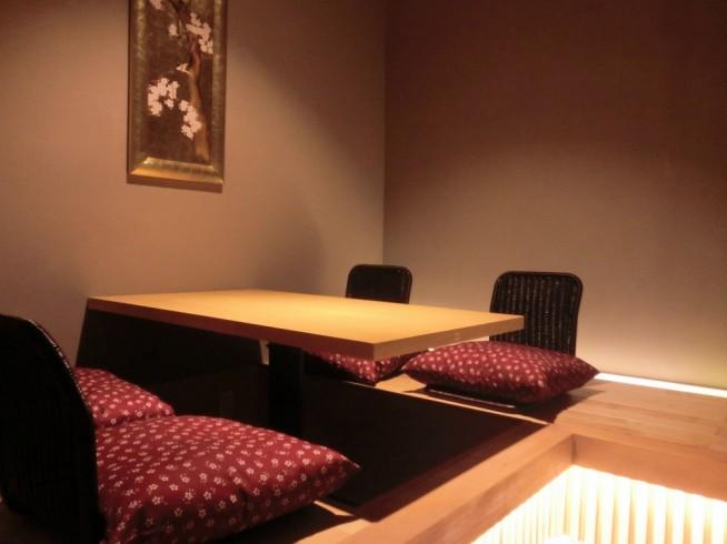 座敷席の4人個室
