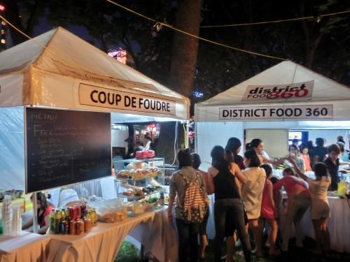 フランスフェスなのに結構ベトナム料理も売っています
