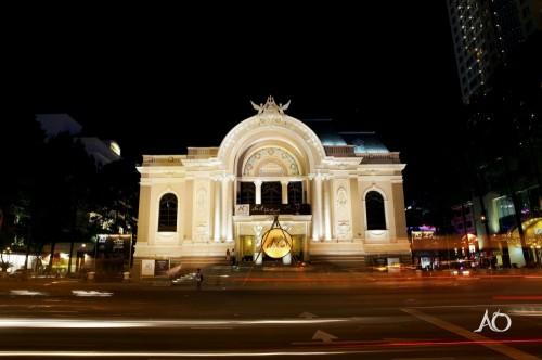 公演が行われているオペラハウス