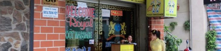 ホアンチウ ロイヤルフットマッサージ(Hoang Trieu Royal Foot Massage)