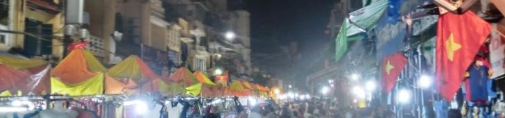 Chợ Đêm Hà Nội (ナイトマーケット)