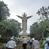 キリスト像(Tượng Chúa KiTo)