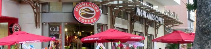 Highlands coffee (ハイランズコーヒー)