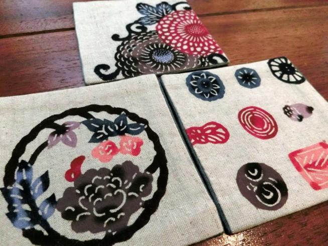 伝統工芸のコースター