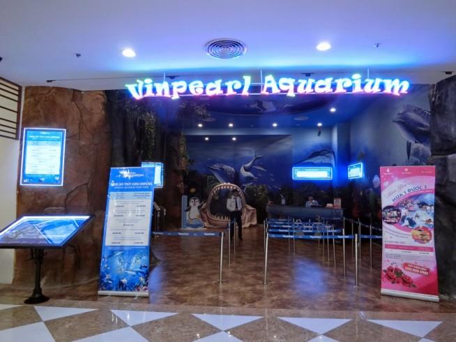 ベトナム最大の水族館「ビンパールアクアリウム」