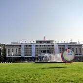 ホーチミンの統一会堂で教育フェスティバルが開催されています。4月24日まで!