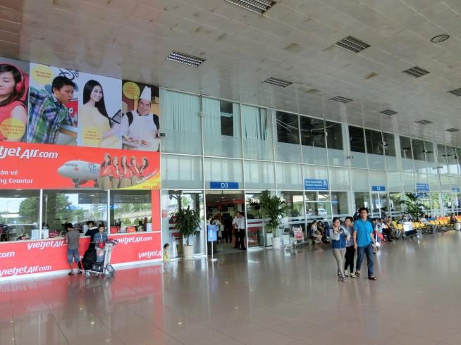 国内線ターミナル拡張部分