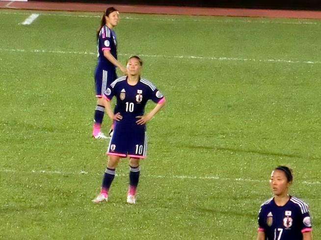 なでしこの顔、澤選手
