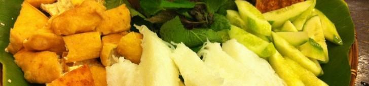 ベトナム北部の料理、BÚN ĐẬU MẮM TÔM(ブンダウマムトム)を食べてみよう!