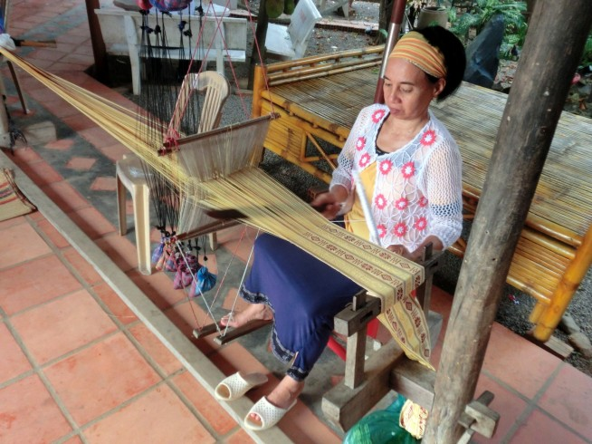 伝統工芸の織物
