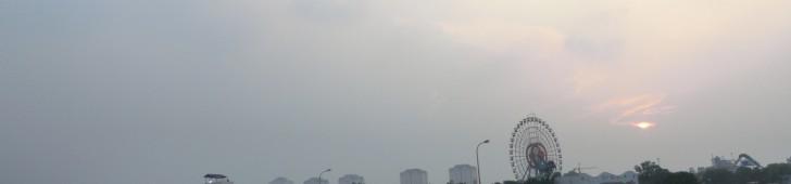 ハノイのホータイ(Hồ Tây)をぐるっと一周回ってみました