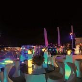 ダナンのルーフトップバーSKY36ではダナンの最高の夜景を楽しめる