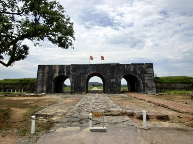 世界遺産「胡朝の城塞」