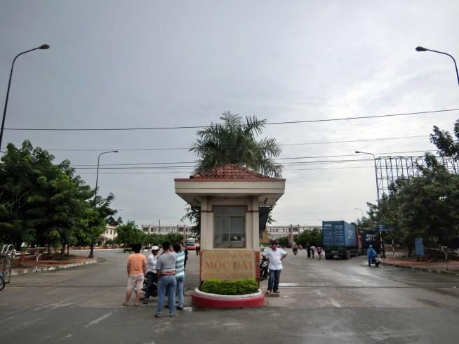 ベトナム側国境入口