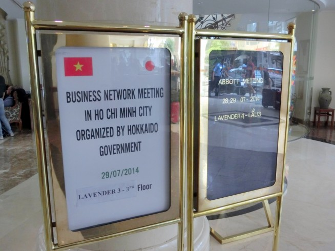 Business Network Meeting in Ho Chi Minh City