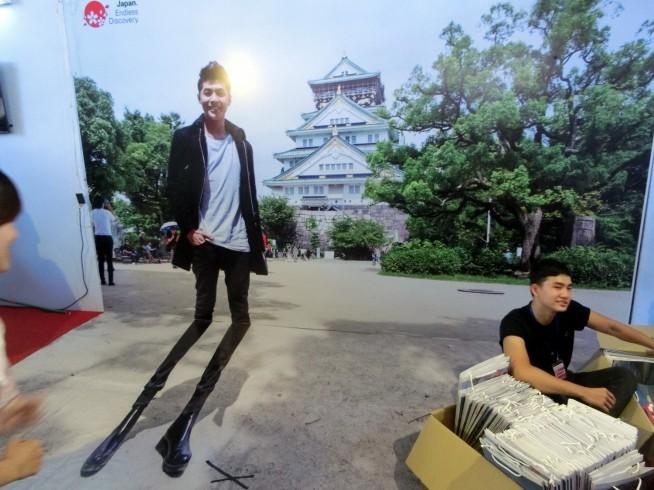 ノーフックチン(Noo Phước Thịnh)と写真を撮れるブース
