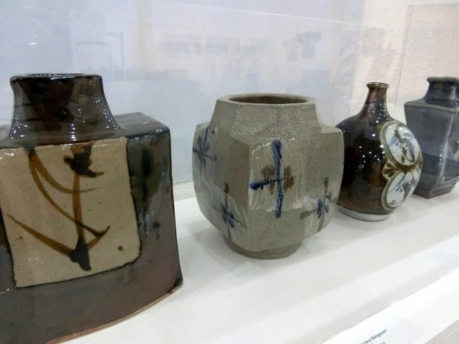 陶芸の展示