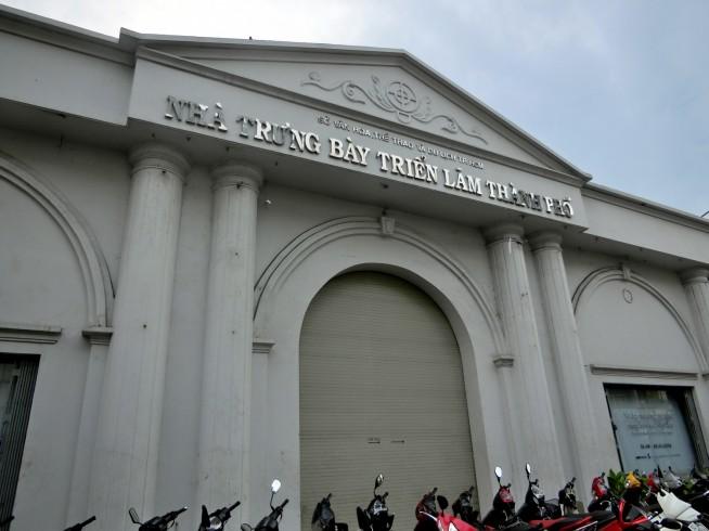 ホーチミン市博物館展示ホール