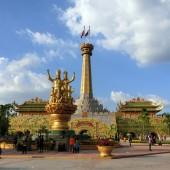 ベトナム最大のテーマパーク「ダイナム公園」~黄金殿・ウォーターパーク編~