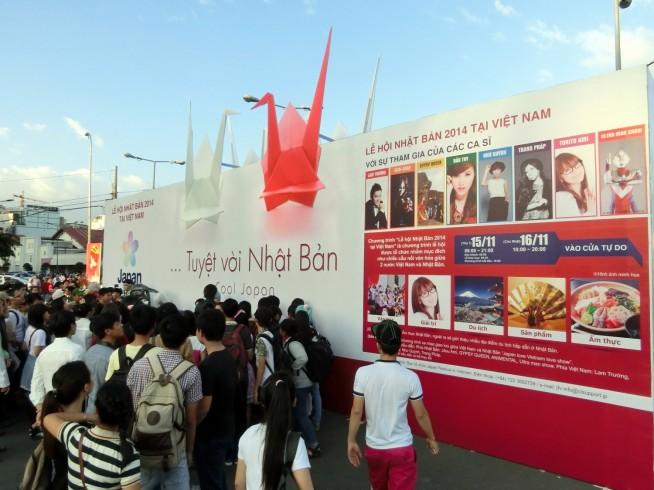 Japan Festival in Vietnam 2014