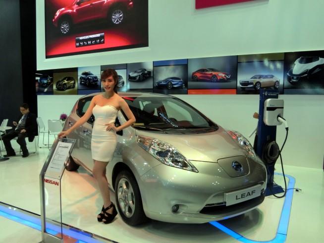 電気自動車「LEAF」