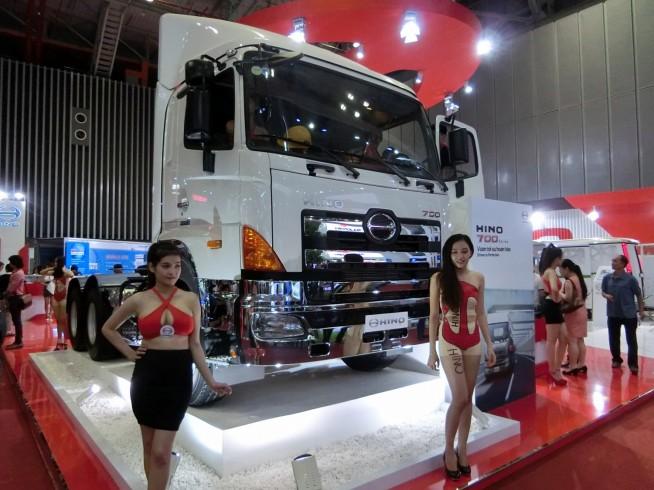 やはりトラックは大きいです