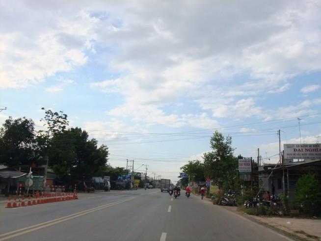 ホーチミン市の隣のタイニン省