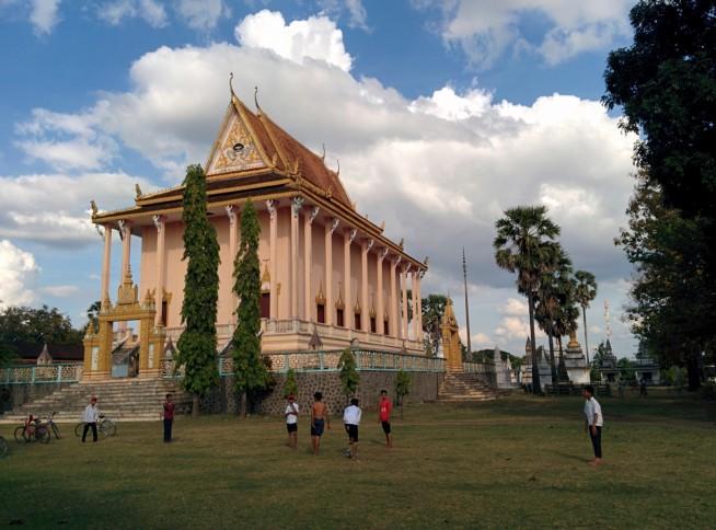 近代的な寺院
