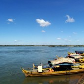 カンボジアツーリング第3回~クラチェで川イルカやいくつかの寺院を見てカンボジアの奥地へ~