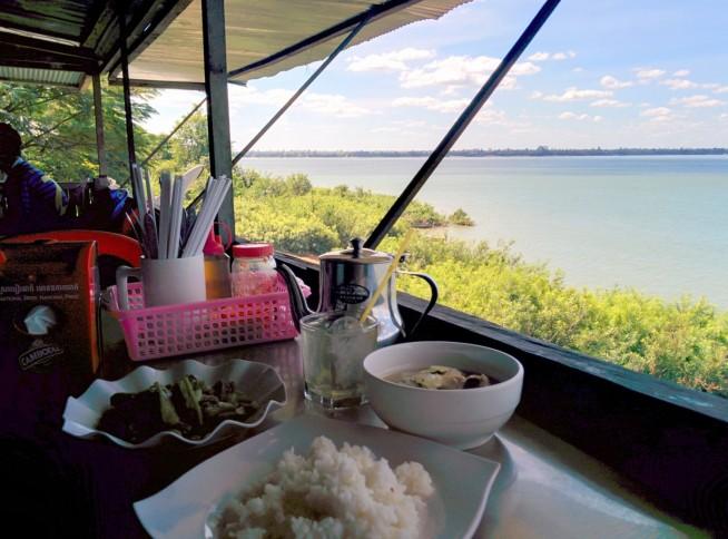 メコン川の素晴らしい眺め