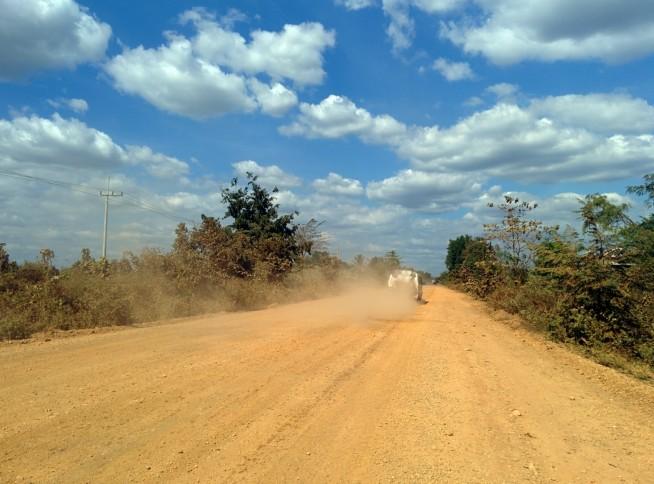 カンボジア国道7号線