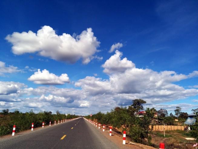カンボジア国道64号線