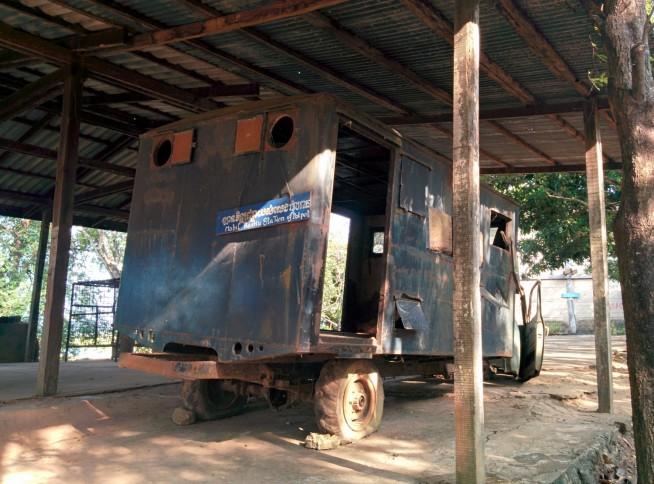 ポルポトが使っていたというトラック