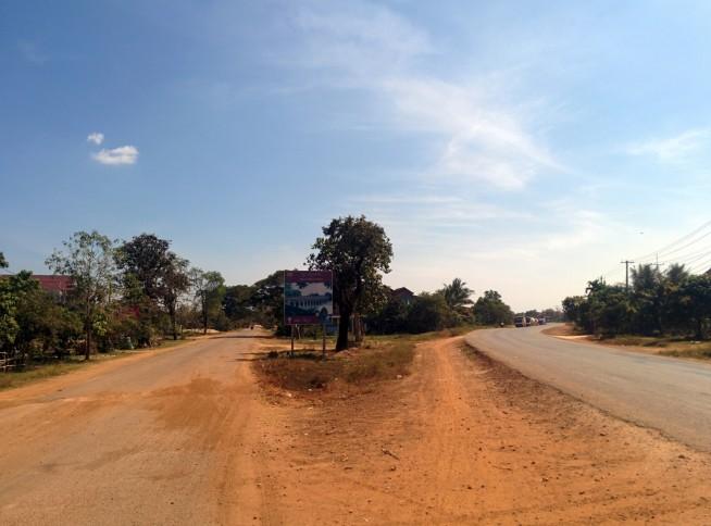 旧道への分岐