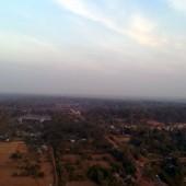 カンボジアツーリング第5回~シェムリアップ郊外のアンコール遺跡群と上空からのアンコールワット~