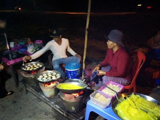 ベトナムのバインセオのような料理