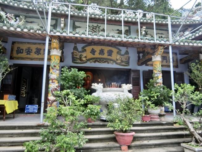 五行山中の寺