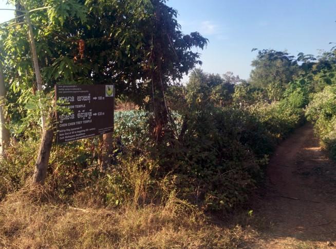 イェイコム(yeay Kom)寺院とチンチェムトレイ(Chinh Chem Trei)寺院へ