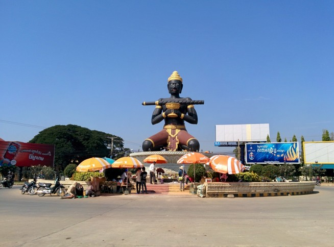 タ・ダンボン像