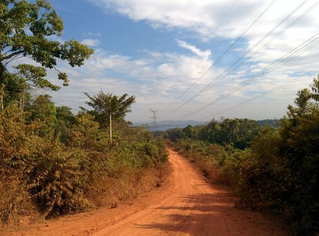 走りやすい高原の道